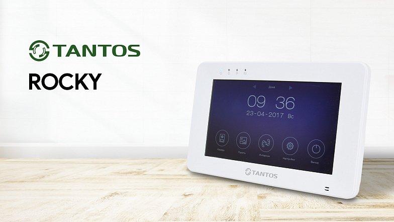 Обзор Wi-Fi видеодомофона Rocky от бренда Tantos